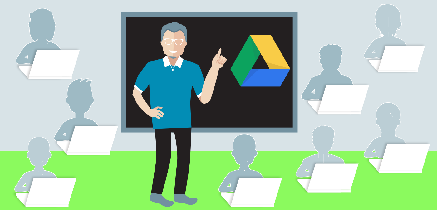 Online teaching with Google Drive