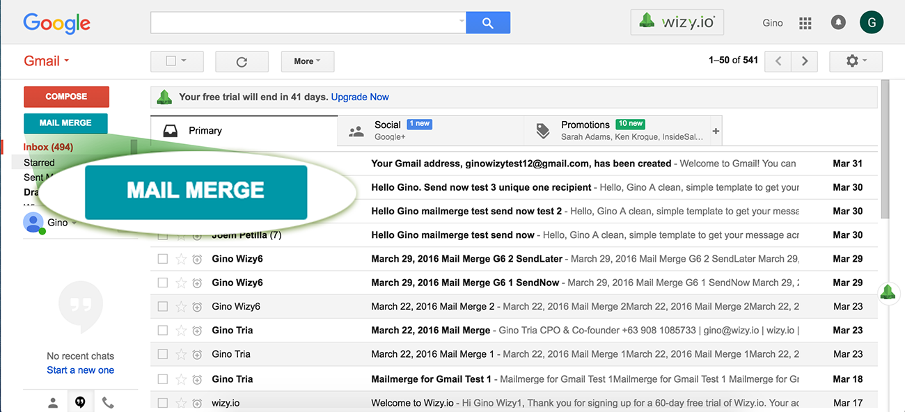 how to set up a group of recipients in gmail
