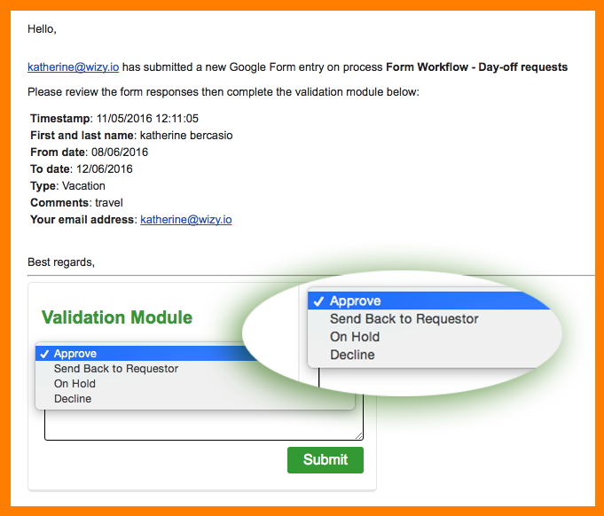 validation module 1